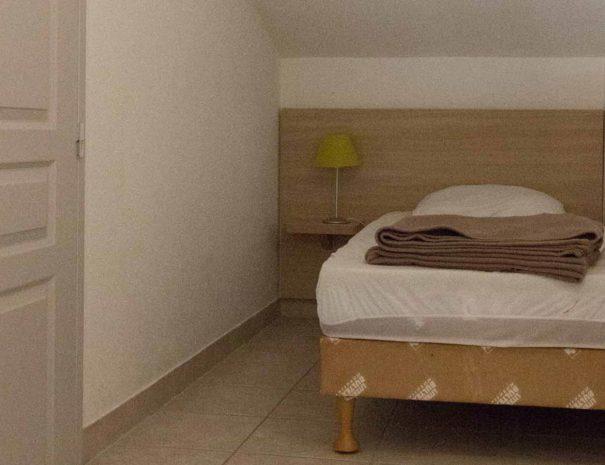 Coin nuit un lit simple